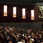 A crowd in IU cinema.