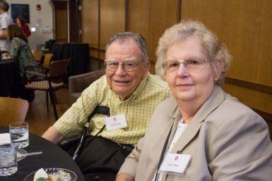 Charles Teeple, BA'50, and his wife Nancy Teeple