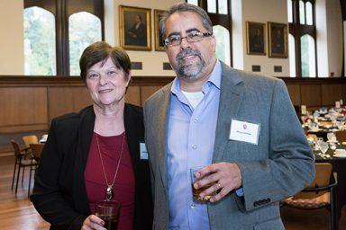Kathleen Johnston and Gerry Langosa