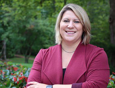 Assistant professor Lauren Smith