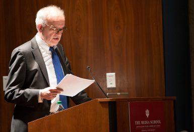 walt Bogdanich at The Media School