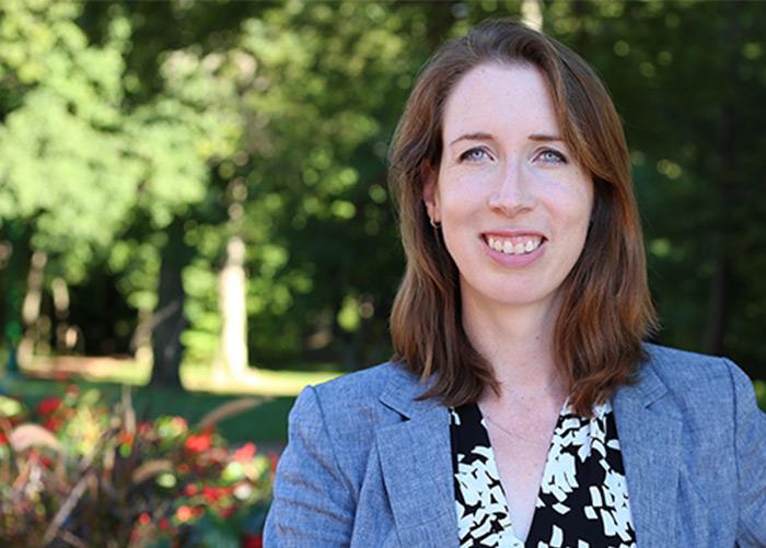 Assistant professor Suzannah Evans Comfort
