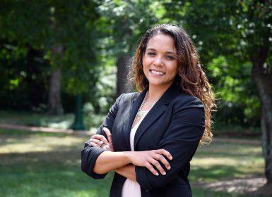 Assistant professor Danielle Kilgo