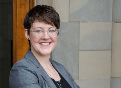 Assistant professor Elizabeth Ellcessor.