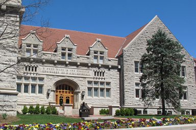 External shot of Franklin Hall