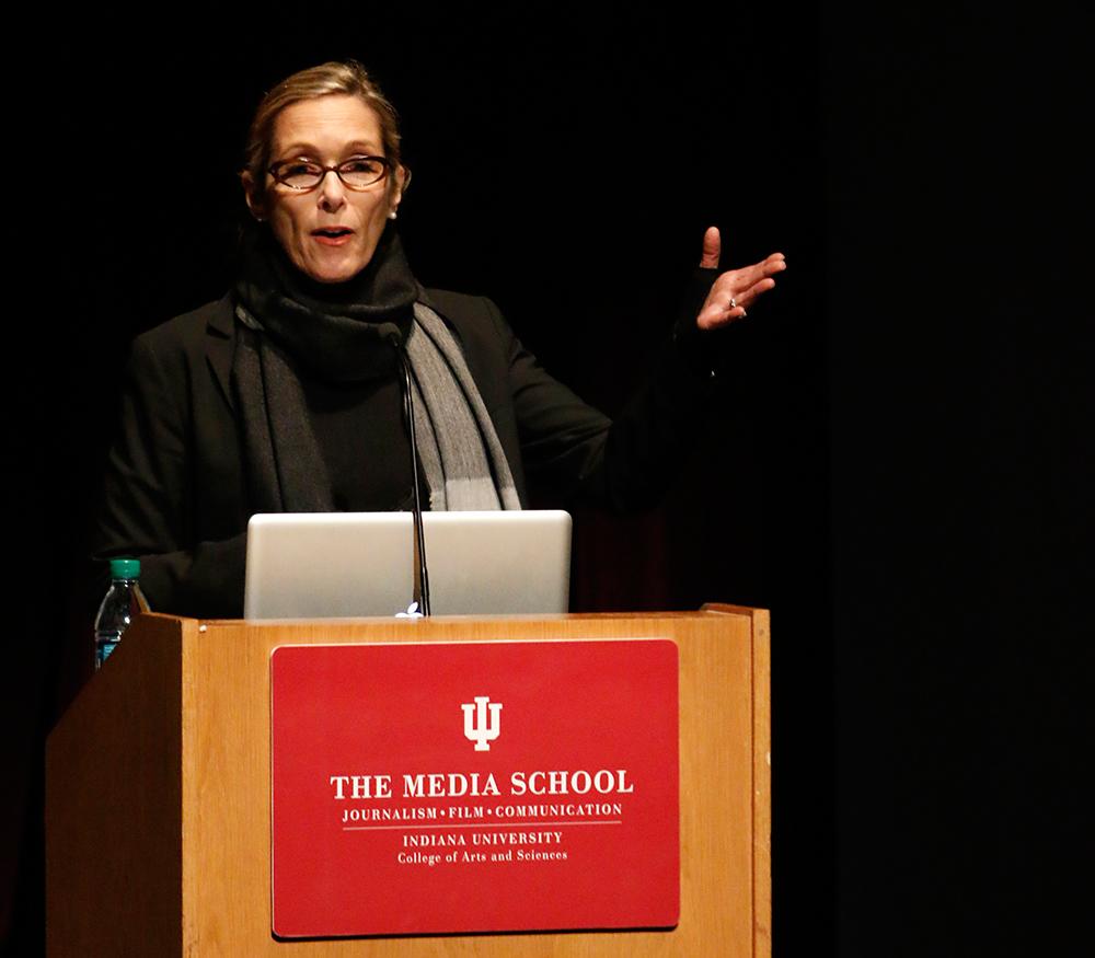 Carolyn Jones at The Media School