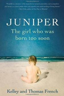 The book about Juniper and micro-preemies like her was published earlier this year. (Courtesy)