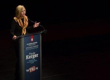 Paula Kerger at The Media School