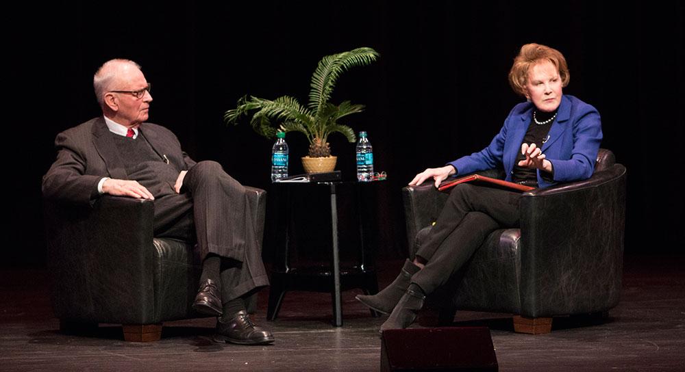 Lee Hamilton and Margaret Warner