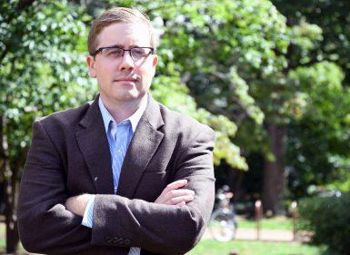 Assistant professor Nick Browning