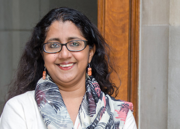 Herman B Wells endowed professor Radhika Parameswaran