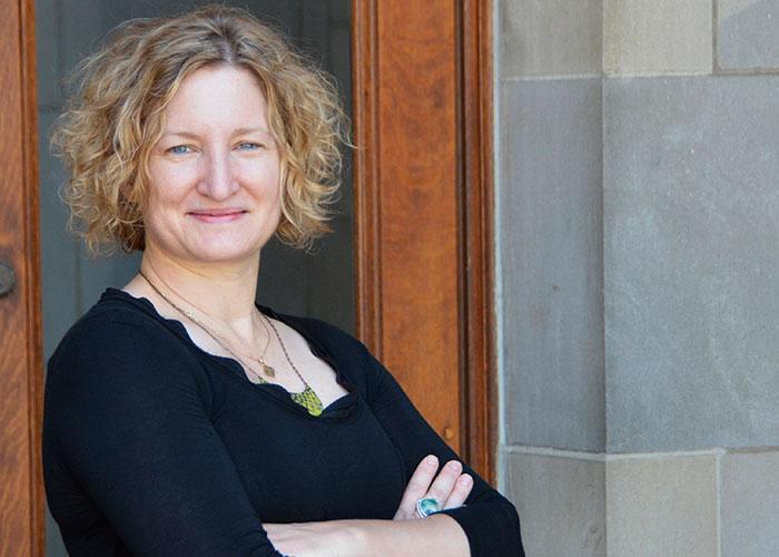 Associate professor Stephanie DeBoer