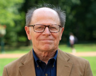 Distinguished professor emeritus David H. Weaver
