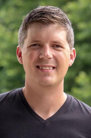 Assistant professor Mike Gruszczynski