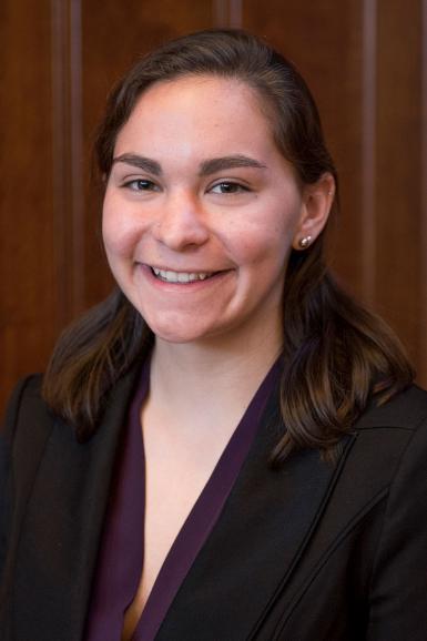 Headshot of Sophia Muston