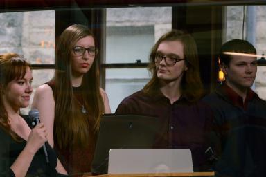 Autumn Almeida, Jocelyn Eads, Kyle Buswell and Blake Sunderland present