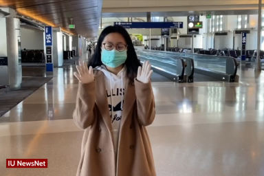 Szu Min Yang reports from the airport in Taiwan