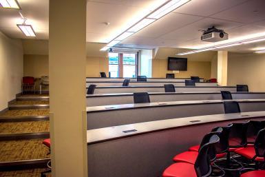 Room 312 of Franklin Hall