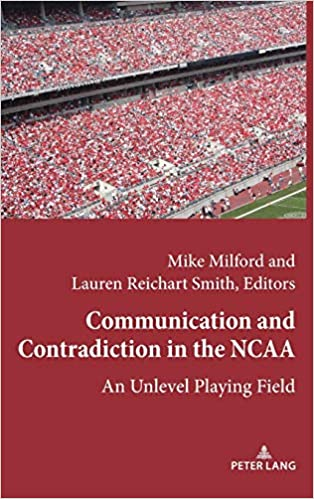 "The book cover of ""Communication and Contradiction in the NCAA"""