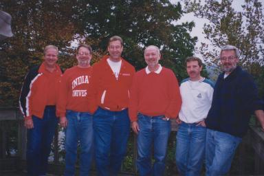 Ron Jourdan, John Paulson, Bob Jenkins, Don Shepherd, Dan Harvey and Patrick Carroll